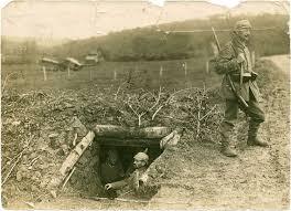 Christian Petersen kommer nærmere fronten 14. april 1916