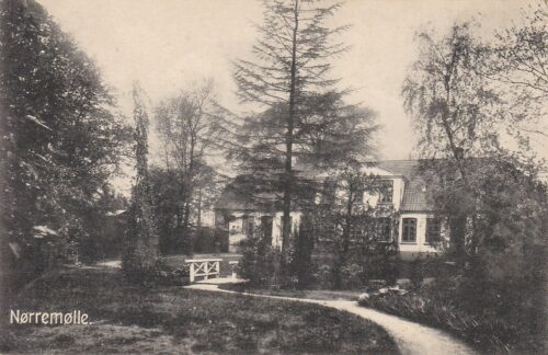 Nørremølle 1915 - Postkort